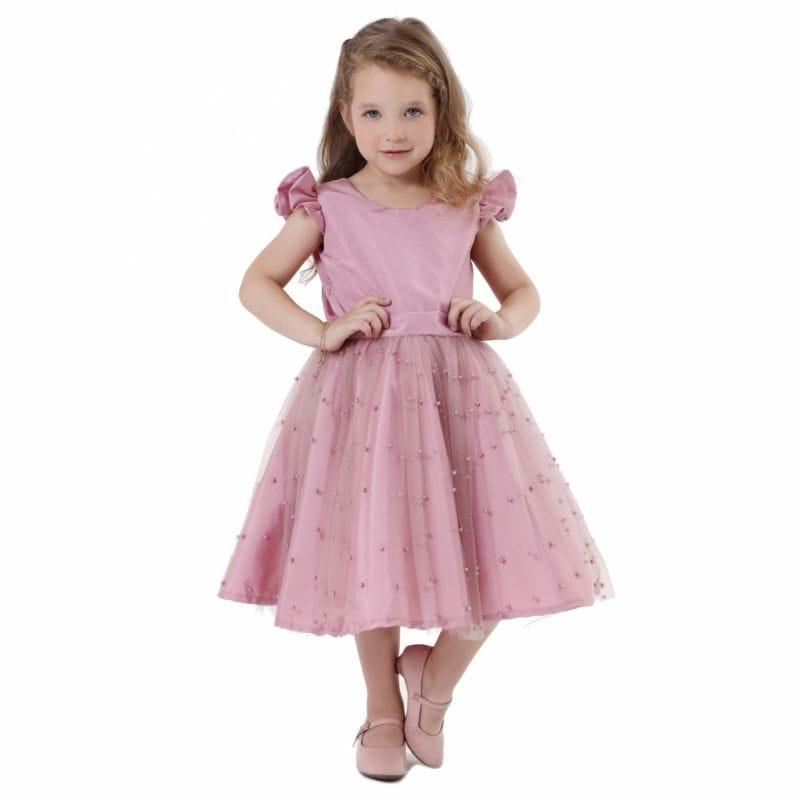 Vestido Infantil Daminha Rose