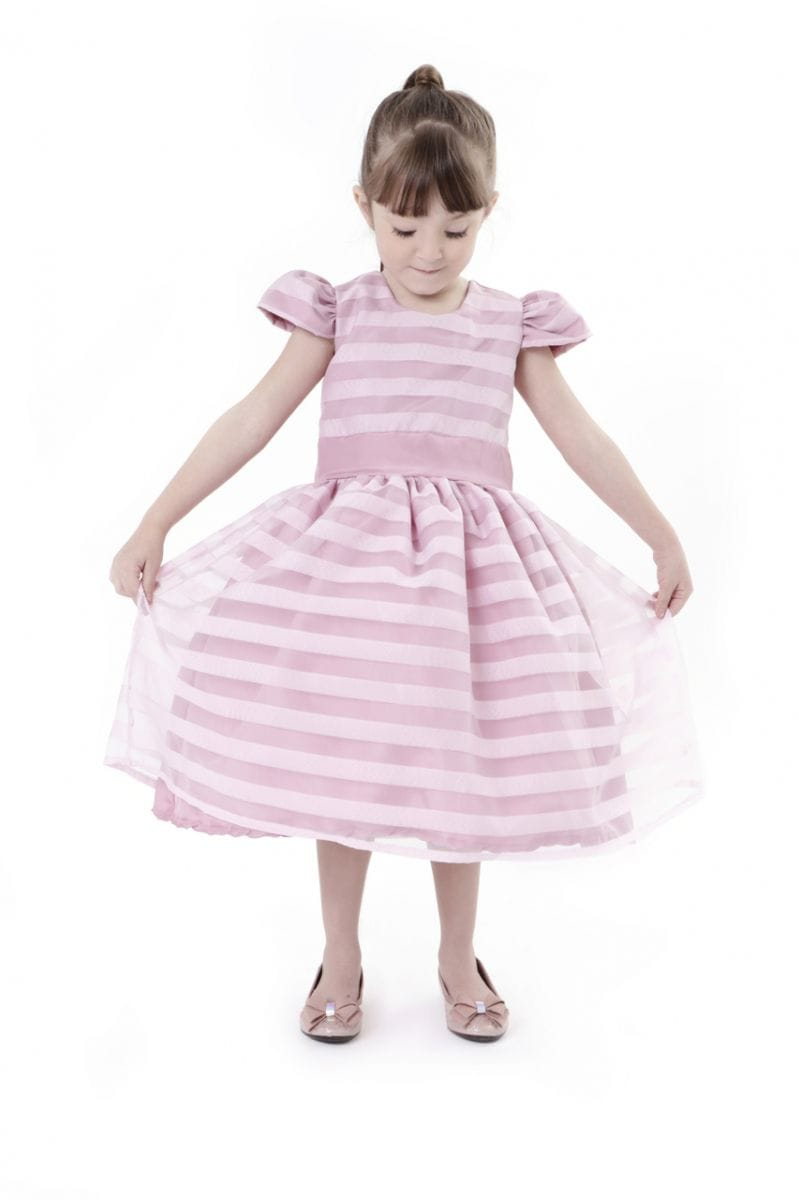 Vestido Rosa Cha Infantil