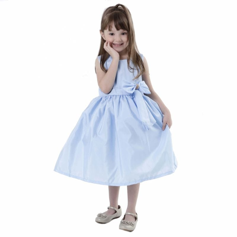 Vestido Infantil Azul bebe