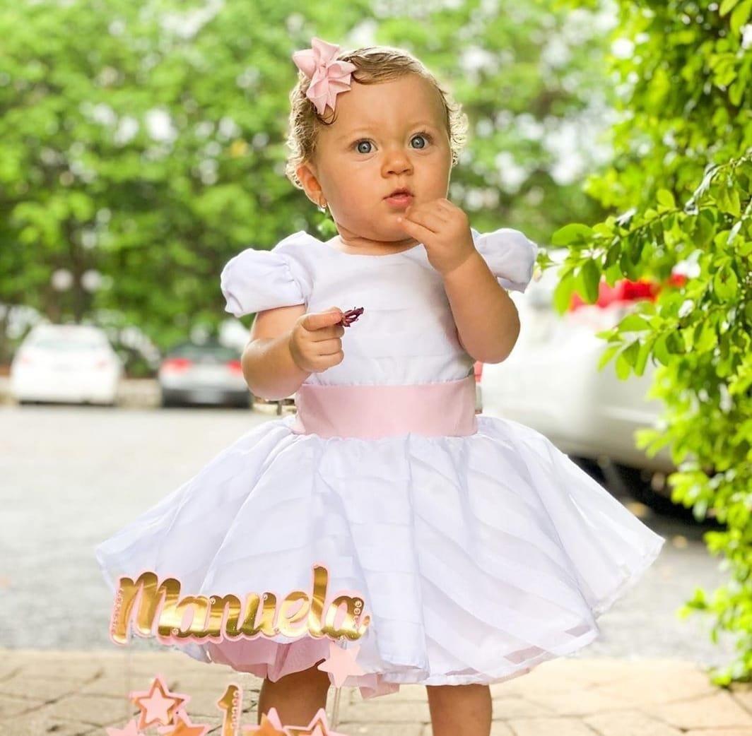 Vestido de Aniversário Infantil