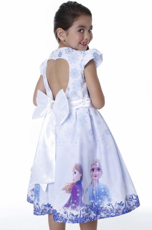 Vestido da Frozen 2