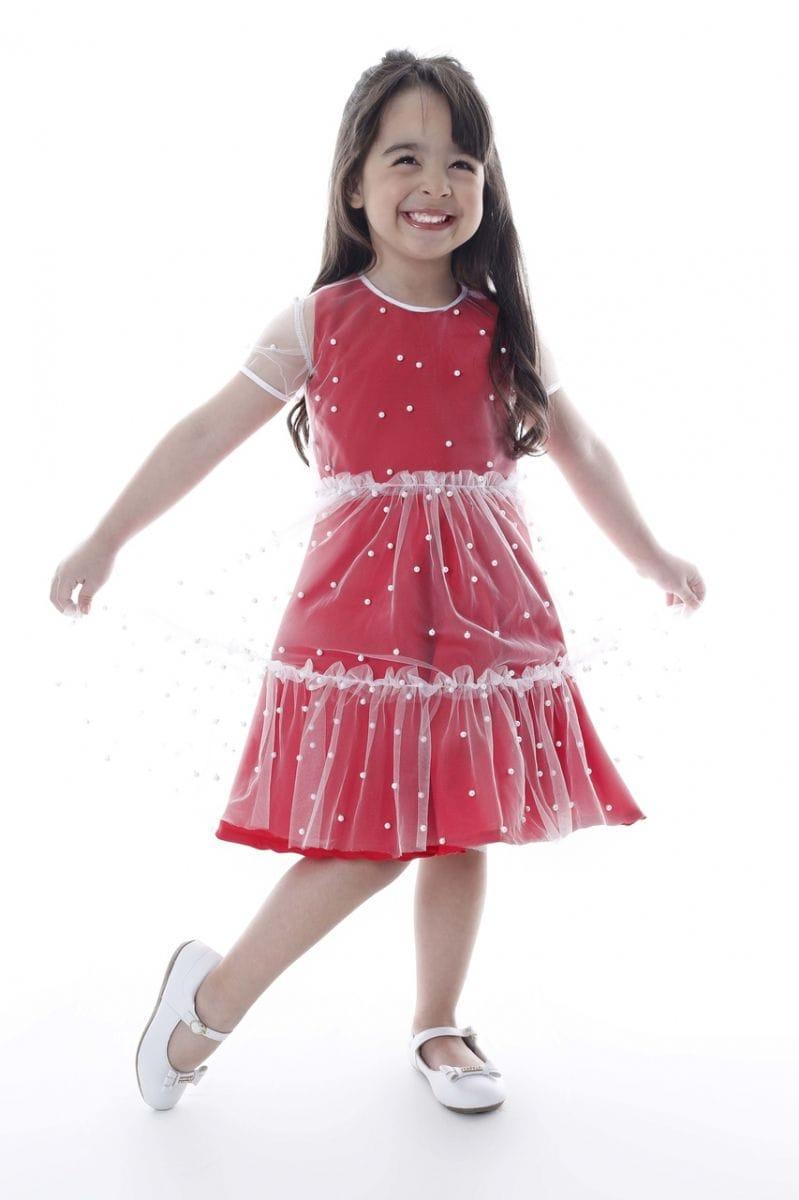 Vestido Para Festa de Aniversário Infantil