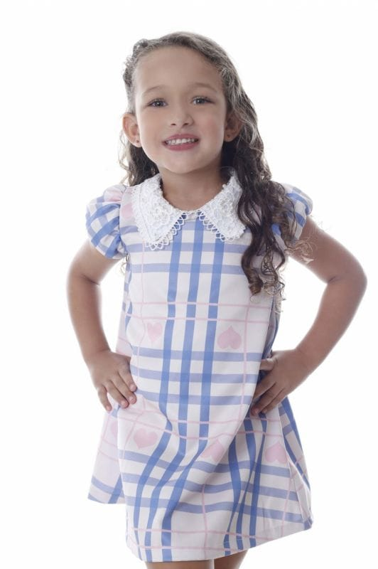 Vestido Tubinho Infantil