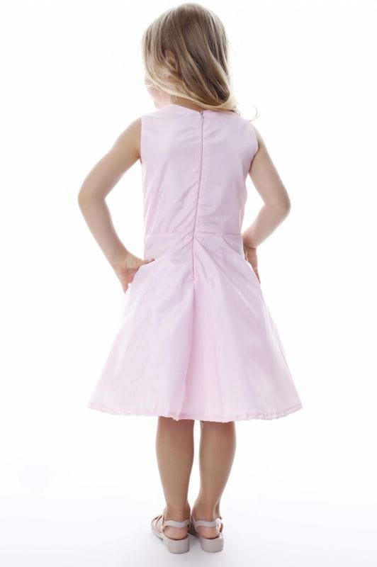 Vestido de Festa Infantil Rosa Bebe