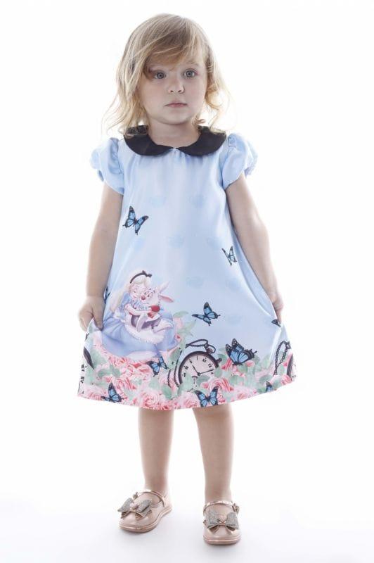 Vestido da Alice no País das Maravilhas Infantil