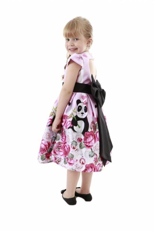 Vestido de Panda Infantil