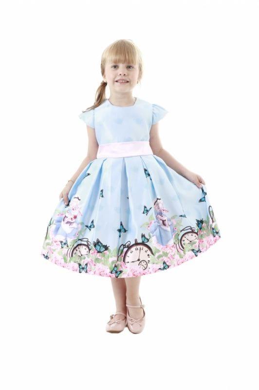 Vestido de Alice no Pais das Maravilhas Infantil