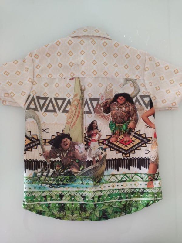 Camisa Infantil Masculina Moana