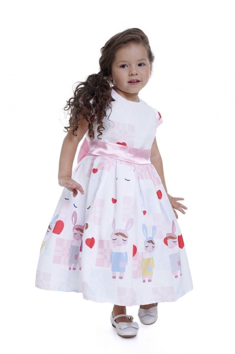 Vestido Infantil Metoo