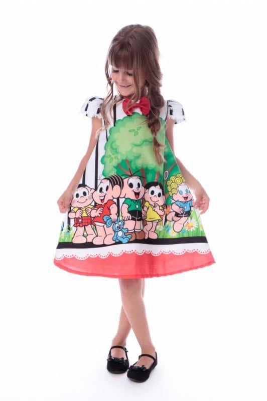 Vestido Turma da Monica