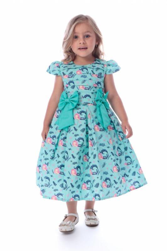 Vestido Sereia Infantil