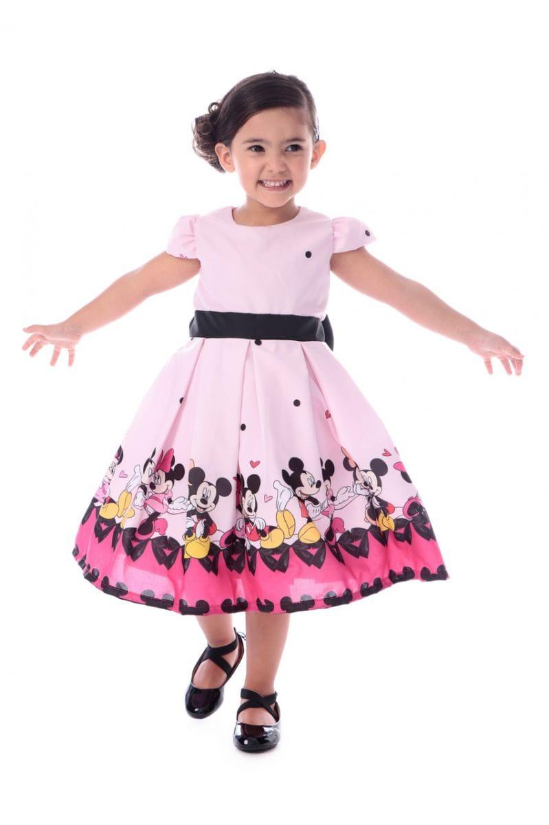 Vestido da Minnie e Mickey Luxo