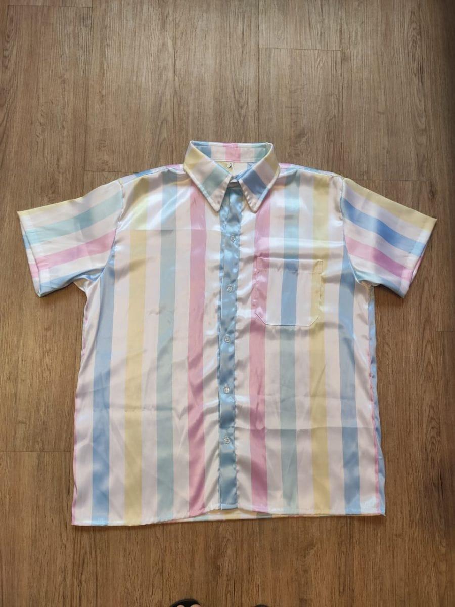 Camisa Masculina Arco Iris