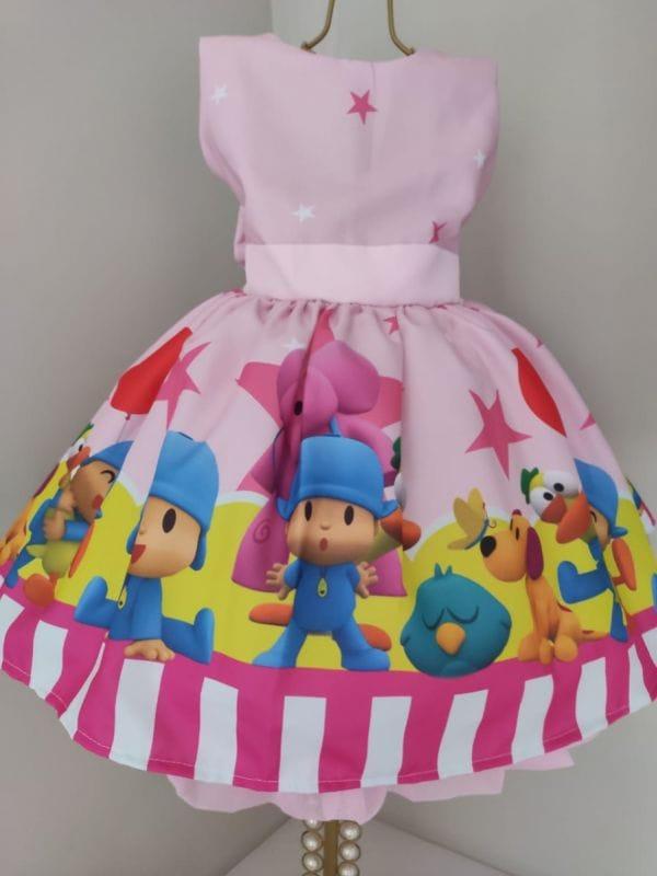 Vestido Infantil Pocoyo