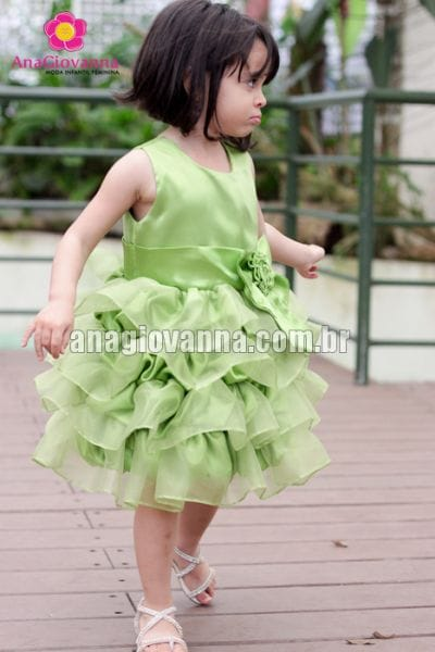 Vestido para Festa Infantil da Sininho