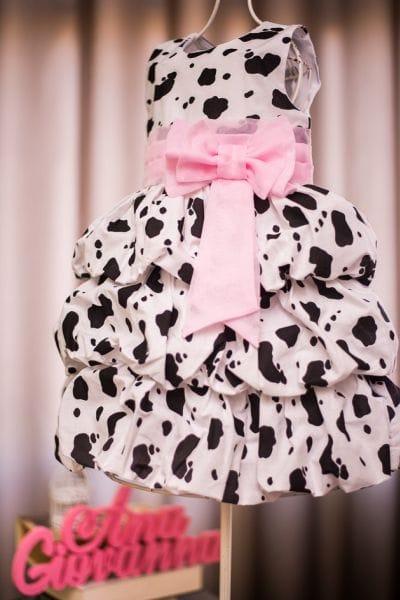 Vestido Fazendinha para festa infantil