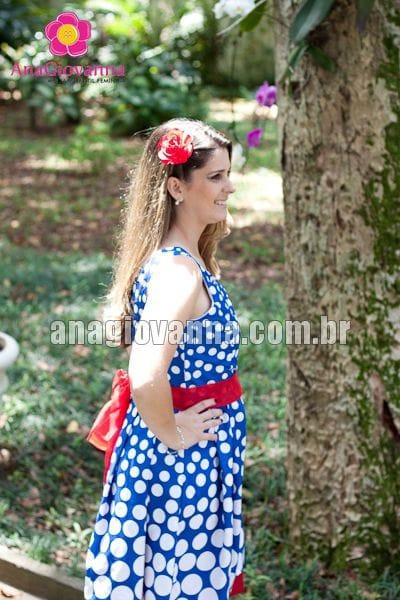 Vestido Galinha pintadinha com alças degradê