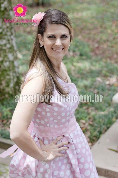 Vestido Gata Marie adulto degradê de alça única