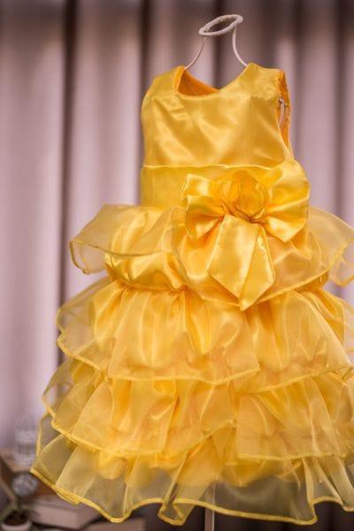 Vestido da Princesa Bela