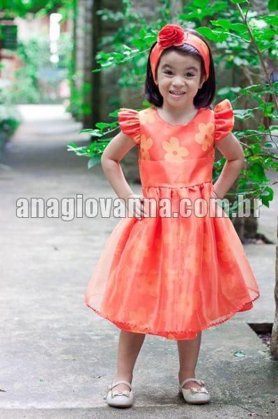 Vestido Infantil da Tasha