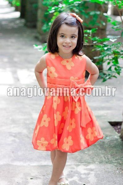Vestido para Festa Infantil Tasha Balonê Baby