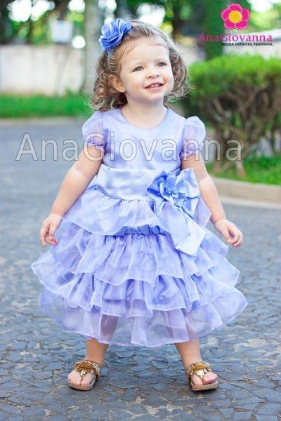 Vestido Princesa Sofia para festa infantil