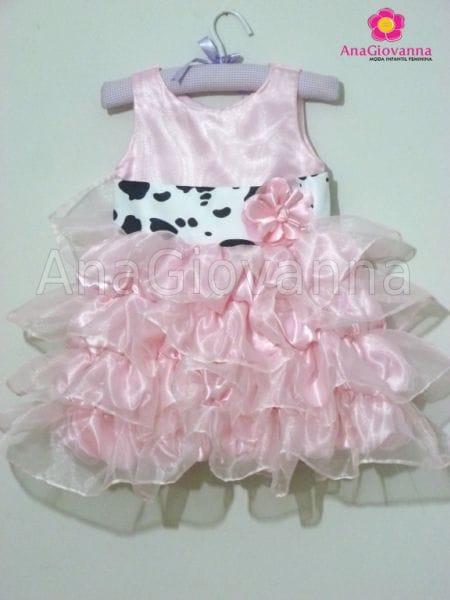 Vestido Princesa Fazendinha
