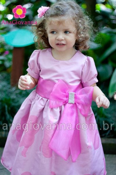 Vestido Uniqua Backyardigans para aniversário infantil