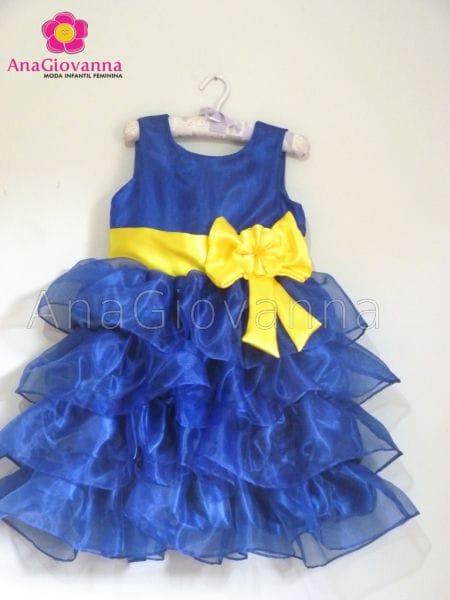 Vestido Minions para Festa Infantil