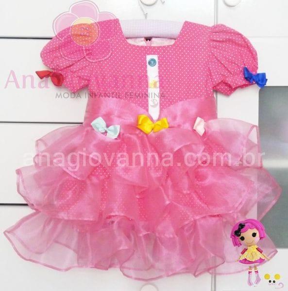 Vestido Lalaloopsy para Festa Infantil