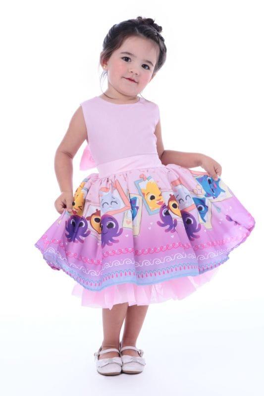 Vestido Infantil Bolofofos