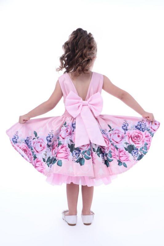 Vestido Infantil Festa Floral