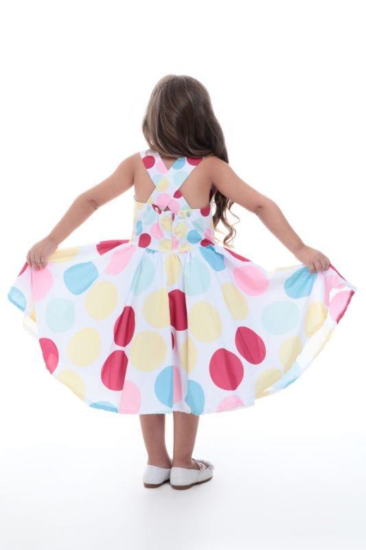 Vestido Infantil Tema Circo