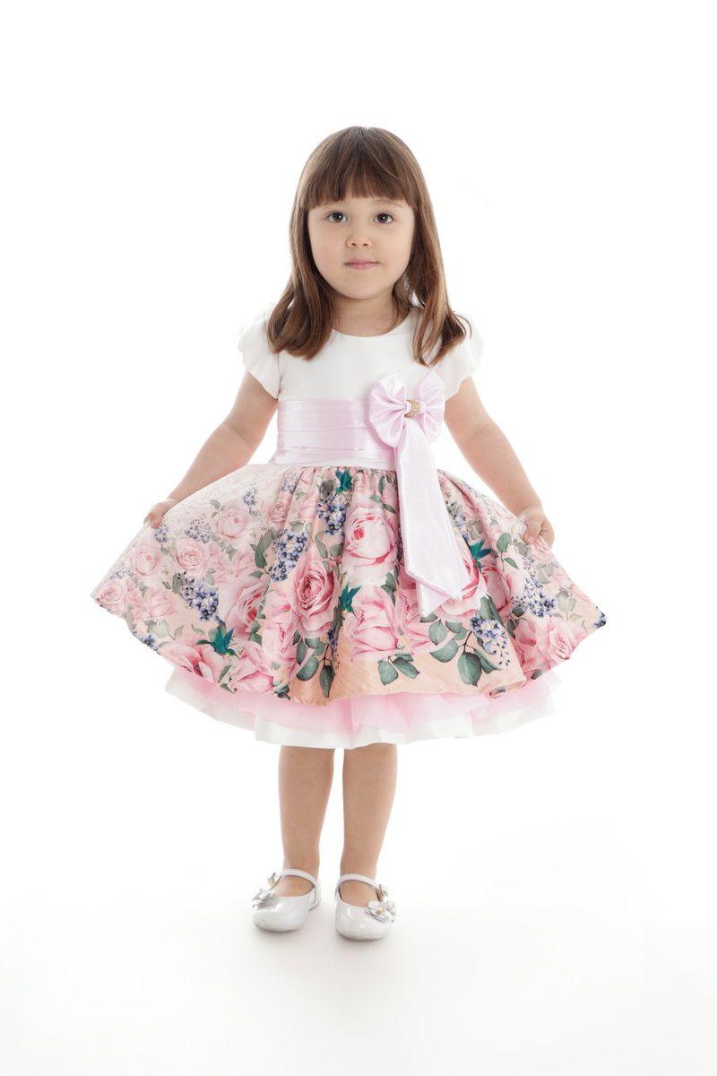 Vestido Floral Bebê