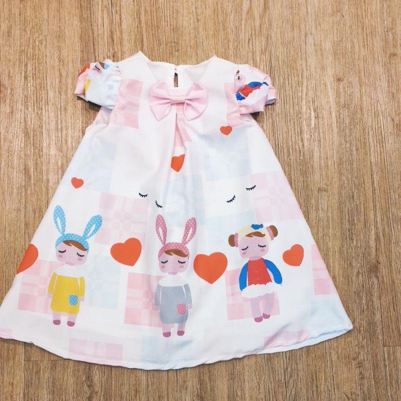Vestido Infantil Metoo Trapézio