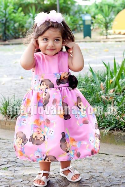 Vestido Dora Aventureira Elegance 2 anos
