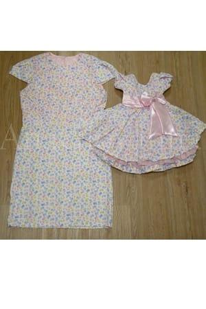 Vestidos Mãe e Filha Passarinhos