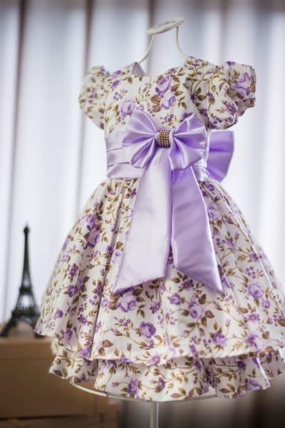 Vestido Infantil Sofia