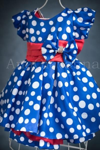 Vestido Galinha Pintadinha