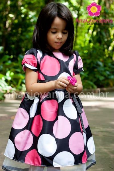 Vestido Minnie Mouse para Festa Infantil
