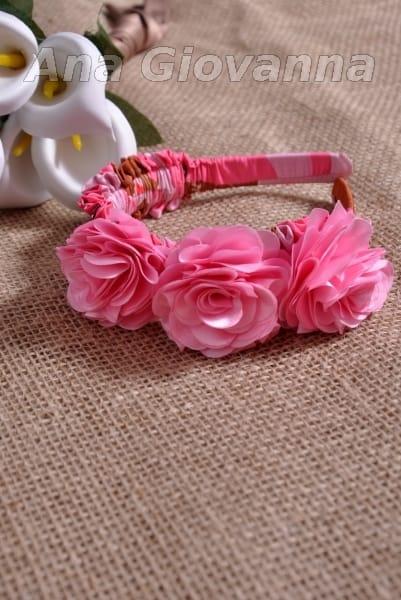 Arco rosa 03 flores