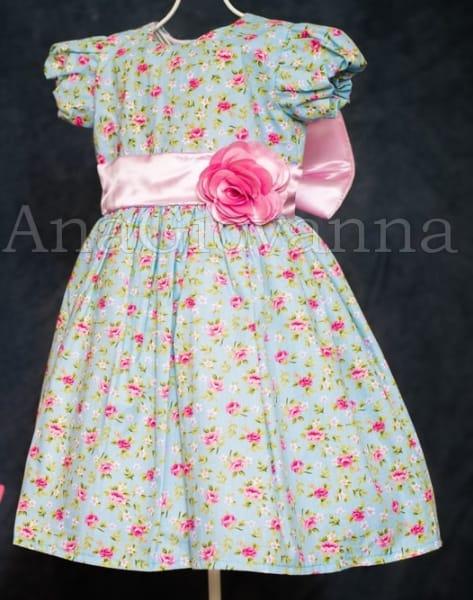 Vestido Infantil Princesinha Floral