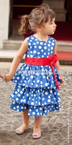 Vestido Galinha Pintadinha com babadinhos