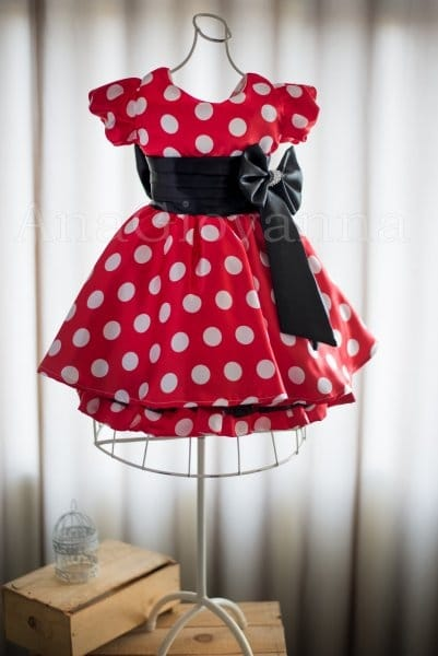 Vestido da Minnie Vermelha