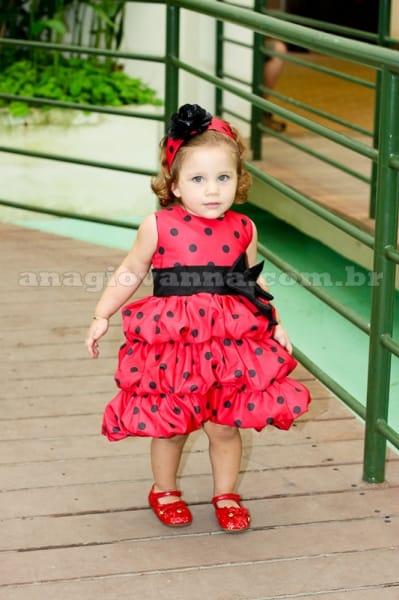 Vestido Minnie Vermelha Balon�