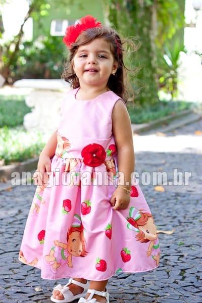 Vestido Moranguinha Baby