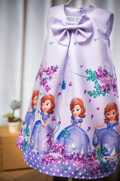 Vestido da Princesa Sofia