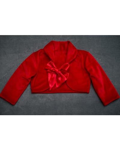 Bolero Vermelho Infantil