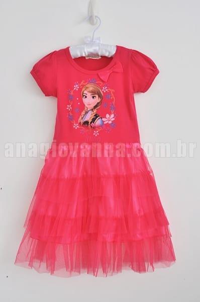 Vestido Ana Frozen