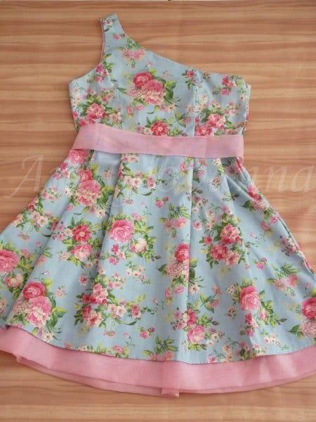 Vestido Adulto Floral